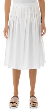 Peserico Cotton-Blend Midi Skirt