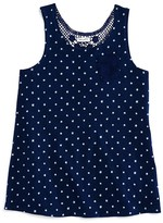 Splendid Girls' Lace Racerback Tank - Big Kid