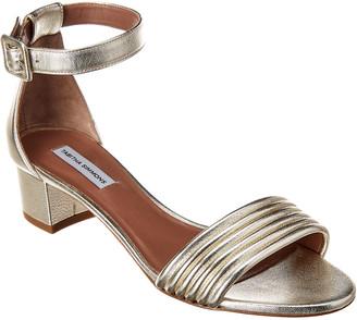 Tabitha Simmons Virginia Metallic Leather Sandal