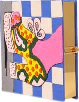 Olympia Le-Tan Olympia Le Tan Polka Dot Shoe Square Clutch