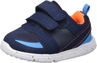 Carter's Every Step Boys 1st Walker Relay Double Strap Athletic Sneaker