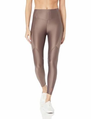AVEC LES FILLES Women's Jersey 7/8 Legging with Powermesh Inserts