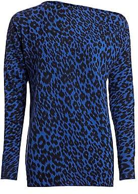 Le Superbe Women's Zip Me Up Leopard-Print Cashmere Sweater