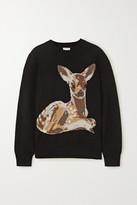 Burberry Intarsia Wool Sweater