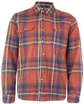 Topman Orange Overshirt