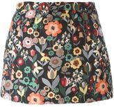 RED Valentino floral jacquard mini skirt