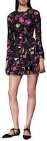 Cynthia Rowley Floral Tiered A-Line Dress