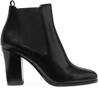 MICHAEL Michael Kors Lottie Leather Heeled Booties