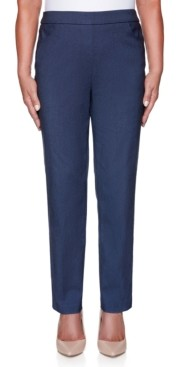 Alfred Dunner Petite Classic Allure Proportioned Medium Denim Pants