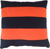 Kim Salmela Darcy Outdoor Pillow, Navy/Orange