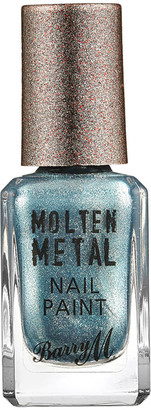 Barry M Cosmetics Molten Metal Nail Paint (Various Shades) - Blue Glacier