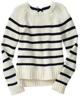 Gap Stripe bow-back sweater