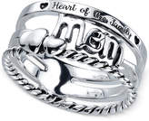 "Unwritten Mom"" Ring in Sterling Silver"