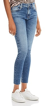 AG Jeans Farrah Skinny Ankle Jeans in 12 Years Fluid