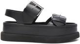 Stella McCartney Leather Buckle Sandals