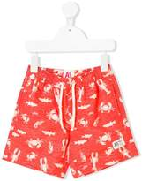 American Outfitters Kids sea creature printed swim shorts
