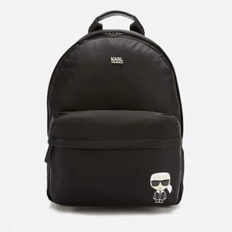 Karl Lagerfeld Paris Women's K/Ikonik Nylon Backpack