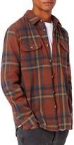 Topman Men's Plaid Flannel Overshirt