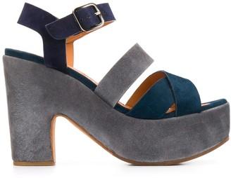 Chie Mihara high platform heel sandals