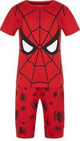 Marvel Children's Spider-Man Shortie Pyjamas, Red