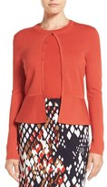 BOSS Women's Fadra Texture Knit Wool Cardigan