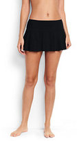 Classic Women's Flounce Mini SwimMini Skirt-Plum Wine