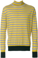 Marni striped turtleneck sweater