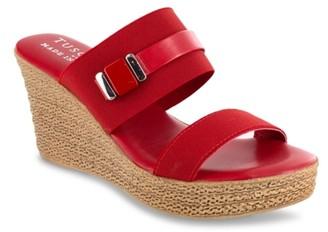 Easy Street Shoes Esta Espadrille Wedge Sandal