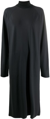 Barena High Neck Jersey Shirt Dress