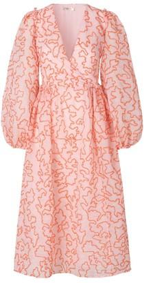 Stine Goya Bernard Wrap Maxi Dress