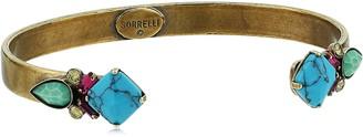 Sorrelli Botanical Brights Cluster Cuff Bracelet
