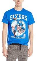 Marvel NBA Men's Captain America Philadelphia Sixers T-Shirt