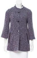 Amina Rubinacci Woven Longline Jacket