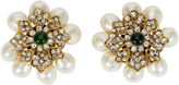 One Kings Lane Vintage 1970s Chanel Pearl & Gripoix Earrings