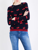 Chinti and Parker Cherry cashmere jumper