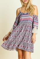 Umgee USA Open Shoulder Dress