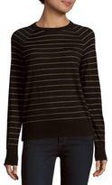 Equipment Sloane Wool-Blend Striped Pullover
