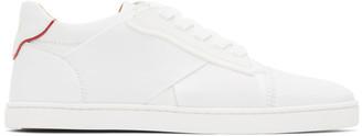 Christian Louboutin White Elastikid Donna Sneakers