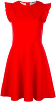 MSGM flared dress - women - Polyester/Spandex/Elastane/Viscose - 42