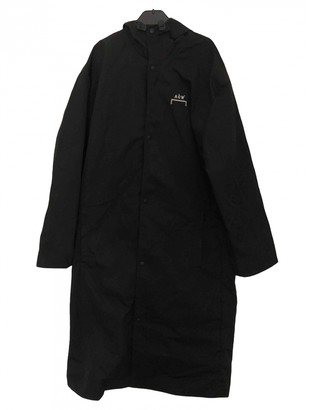 A-Cold-Wall* Black Polyester Coats