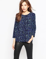 French Connection Soho Boa Drape Tunic