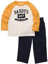 """Carter's daddy's mvp"""" tee & pants set - toddler"""