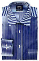 Eagle Navy Stripe Regular Fit Dress Shirt