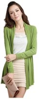 ARJOSA Women's Cable Knit Long Sleeve Front Open Cardigan Sweater
