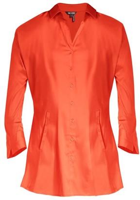 Nic+Zoe Santa Monica Stretch-Cotton Shirt Jacket