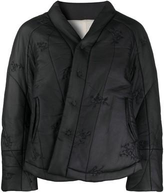 Renli Su Quilted Mulberry Silk Jacket