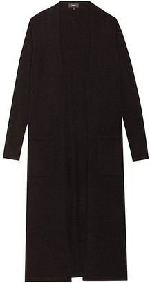 Theory Torina Open-Front Knit Cashmere Cardigan