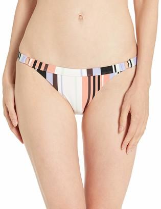 Volcom Women's Stripe Tease Hipster Full Bikini Bottom