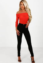 Pink Boutique Trendsetter Black High Waisted Skinny Jeans