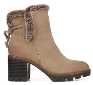 Naturalizer Valene Faux Fur-Trim Ankle Booties